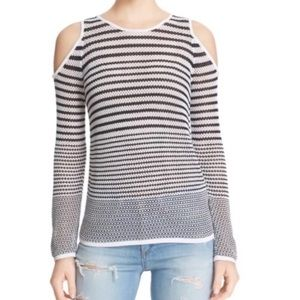 Rag & bone Quinn Cold Shoulder Sweater Knit Top M